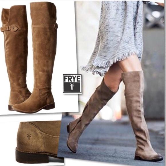 a88ee864b8f Frye Shoes - FRYE SHIRLEY OTK WESTERN LEATHER RIDING BOOTS SZ 8